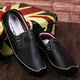 Breathable PU Thread Driving Shoes for Men