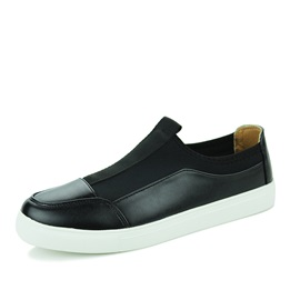 PU Patchwork Skater Shoes
