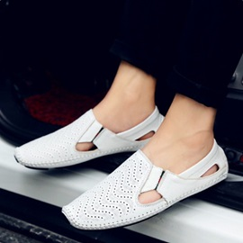 Casual Thread Flats Men Loafers