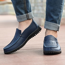 Breathable PU Hollow Men's Casual Shoes