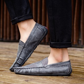 Cosy Breathable Slip-On Driving Shoes