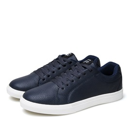 PU Lace-Up Men's Skater Shoes