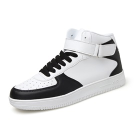 PU Velcro Round Toe Men's Fashion Shoes