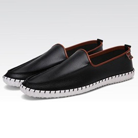 Breathable Thread Slip-On Men's Loafers
