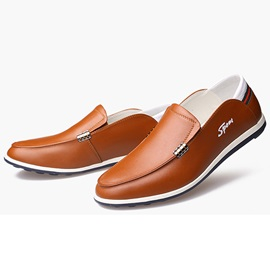 British Style Slip-On Loafers