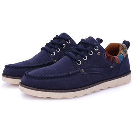 British Style Suede Thread Men's Casual Shoes
