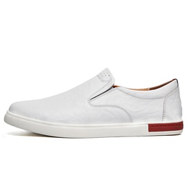 PU Plain Slip-On Men's Loafers