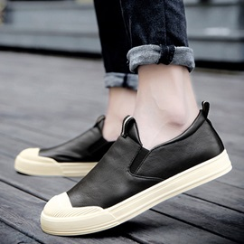 PU Plain Slip-On Men's Casual Shoes