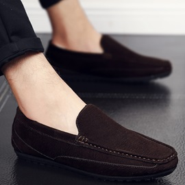 PU Plain Slip-On Men's Winter Loafers Discount