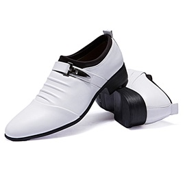 PU Sequin Slip-On Thread Men's Casual Shoes