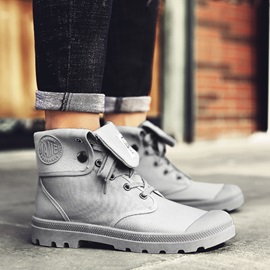 Canvas Lace-Up Front England Work Shoes