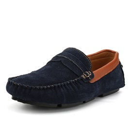 Faux Suede Slip-On Low-Cut Upper Casual Shoes