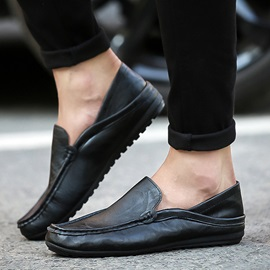 Low-Cut Upper Slip-On Men's Shoes