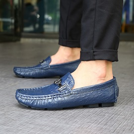 Slip-On Round Toe Men's Casual Loafers