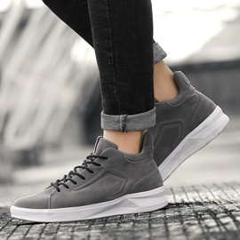 Lace-Up Mid-Cut Upper Men's Casual Shoes