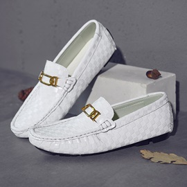 Slip-On Round Toe Men's Loafers