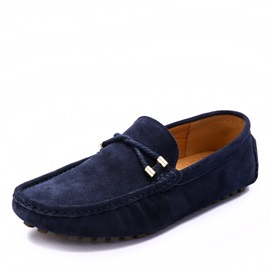 Plain Round Toe Men's Shoes