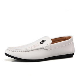 Plain Low-Cut Upper Slip-On Soft Leather Men