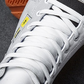 Flat Heel Floral Lace-Up Round Toe Men's Skate Shoes