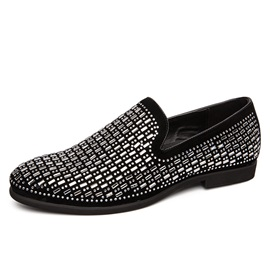 Low-Cut Upper Slip-On Round Toe Thin Shoes