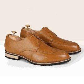 Perforated & Plain Toe Oxfords