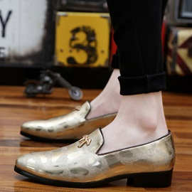 British Style Pointed Toe Dress Shoes