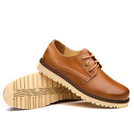 Lace-Up Men's Business Shoes