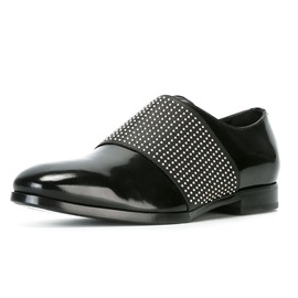 Faux Leather Patchwork Slip-On Men's Shoes