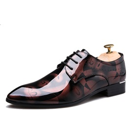 PU Lace-Up Professional Shoes For Men