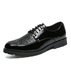 Plain Low-Cut Upper Men's Dress Shoes