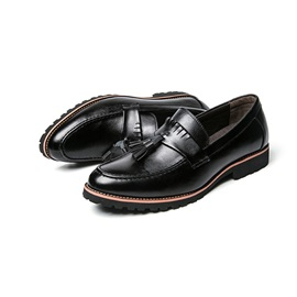 Low-Cut Upper Slip-On Men's Dress Shoes