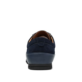 PU Patchwork Round Toe Men's Sneakers