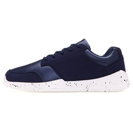 PU Patchwork Round Toe Lace-Up Sneakers