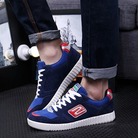 British Suede Lace-Up Sneakers