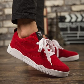 Solid Color Suede Lace-Up Men's Casual Shoes