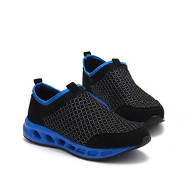 Breathable Mesh Round Toe Sneakers