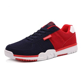 Contrast Color Suede Men's Sneakers