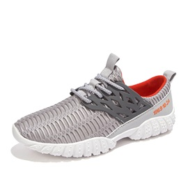 Breathable Cut-Out Lace-Up Sneakers
