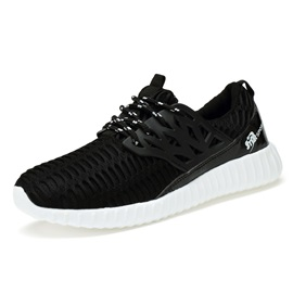 Breathable Lace-Up Sport Shoes