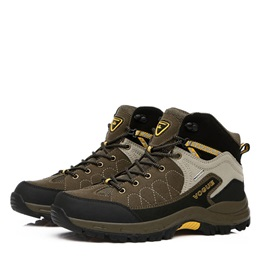 PU Thread Mid-Cut Hiking Shoes