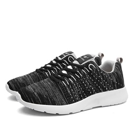 Breathable Round Toe Lace-Up Sport Shoes for Men