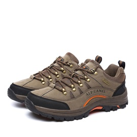 Wear Resistant Lace-Up Outdoor Shoes