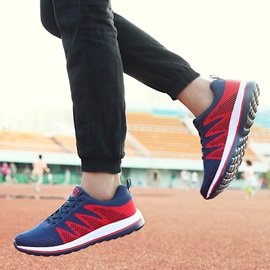 Breathable Contrast Color Running Shoes