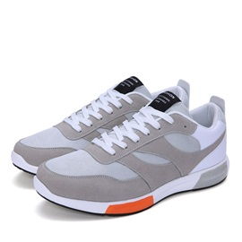 Suede Patchwork Men's Sport Shoes