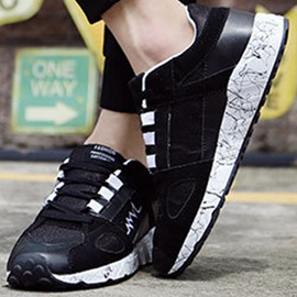 Breathable Round Toe Men's Sneakers