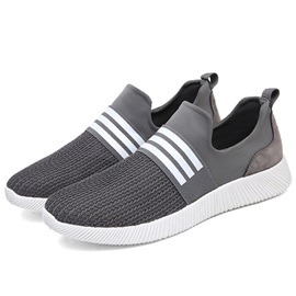 Spandex Elastic Band Patchwork Men's Sneakers