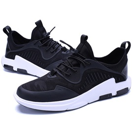 Spandex Camouflage Lace-Up Men's Shoes