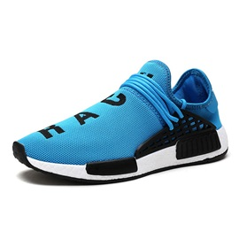 Mesh Brisk Lace-Up Round Toe Sneaker for Men