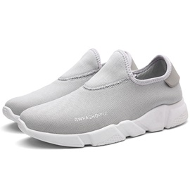 Mesh Breathable Plain Slip-On Men's Sneakers