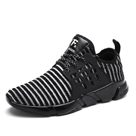 Mesh Lace-Up Mid-Cut Upper Durable Women's Sneakers